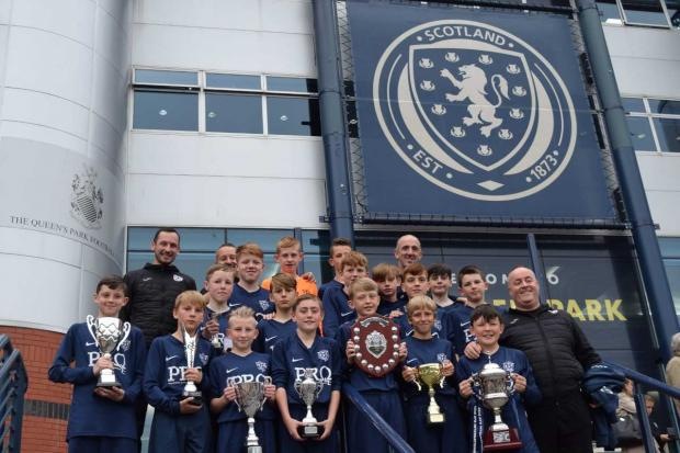 The Gazette: As well as the PJDYFL title, Thorn also won the Hamish Ferguson Memorial Cup, Crosshouse Tournament, Cumbernauld Colts Tournament, Giffnock SC Tournament, Ayr Scotland Cup 2019, Reamonn Gormley Memorial 2019 and the Carbrain Tournament