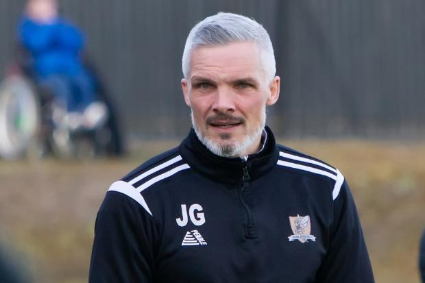 Buddies have been granted permission to speak to Alloa boss Jim Goodwin