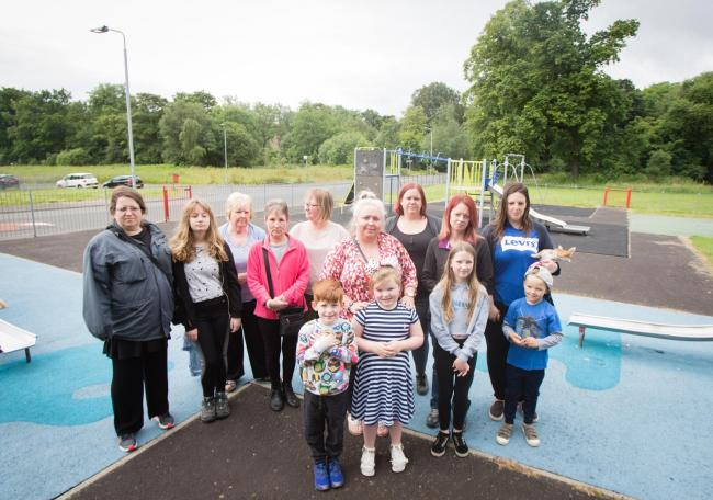 Mum issues call for new equipment at 'outdated' play park