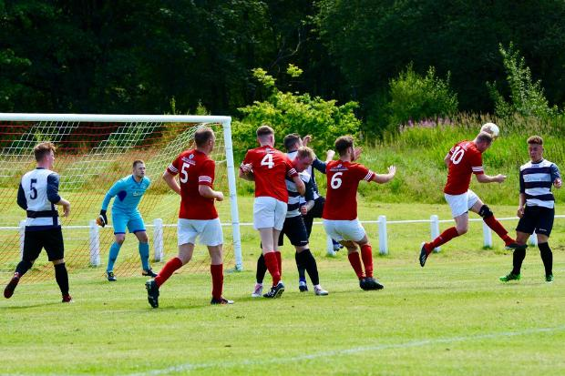 Win and a draw sees Johnstone Burgh continue their impressive pre-season form (Photo: Kenneth McWilliam)