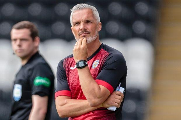 Jim Goodwin was impressed with his side's efforts