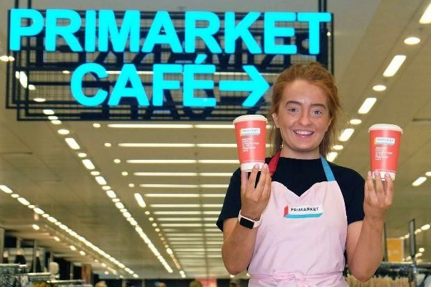 Kayleigh McCormack is a barista at Scotland's first Primark store café at intu Braehead