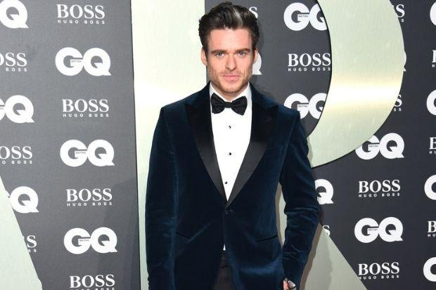 Bodyguard star Richard Madden posed for photographers at the glitzy GQ event (Matt Crossick/PA)