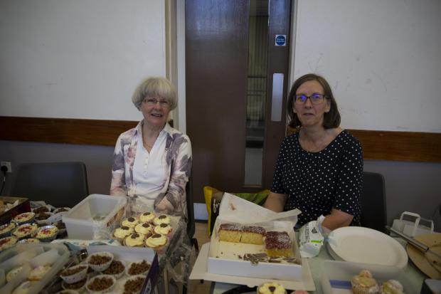 The Gazette: Margaret Camelford and Lynne Smith used tasty treats to generate funds