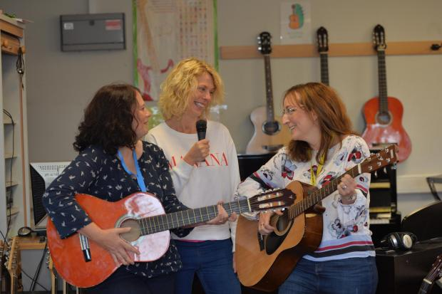 The Gazette: Elaine Livingstone, Janis Linton and Zoey Hillman were on song