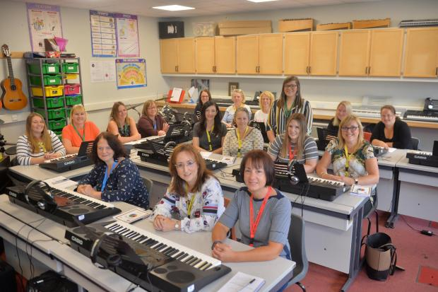 The Gazette: Parents were given the chance to show off their musical abilities