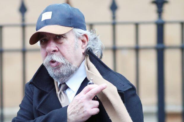 Michael Neilson is pictured leaving Paisley Sheriff Court