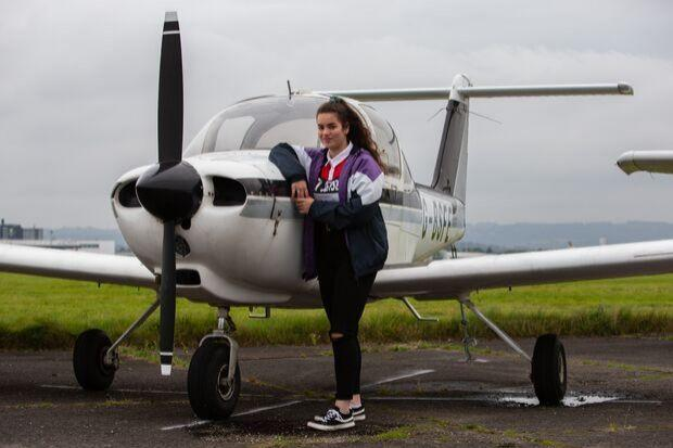 Jennifer Cuthill, from Johnstone, wants to fly the flag for women in the cockpit