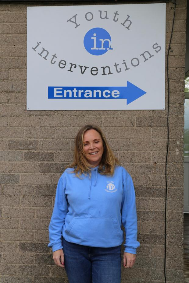 The Gazette: Louise Dempsey outside her Linwood hub
