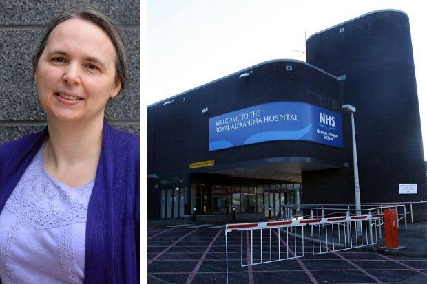 Catherine Hughes waited more than eight hours to see a GP at the RAH