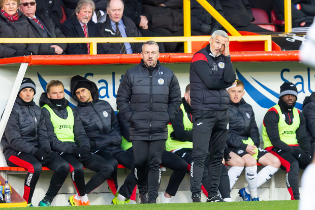 Jim Goodwin admits finances will dictate St Mirren's January targets