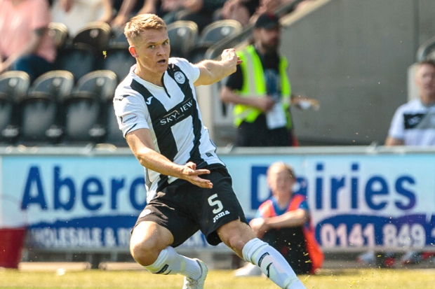 Hull ace keeps door open for extended stay at St Mirren