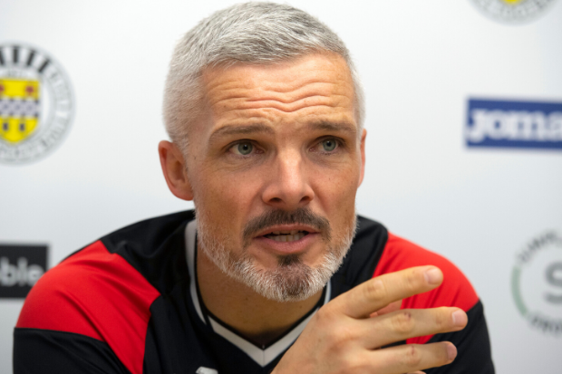 St Mirren manager Goodwin reflects on first six months in hotseat