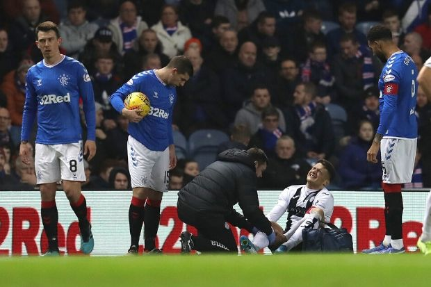 St Mirren boss Jim Goodwin fears worst for Kyle Magennis after injury blow