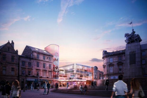 Plans for a cinema were recently backed by provost Lorraine Cameron