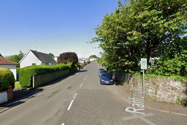 The pensioner was targeted in Ranfurly Road, Bridge of Weir