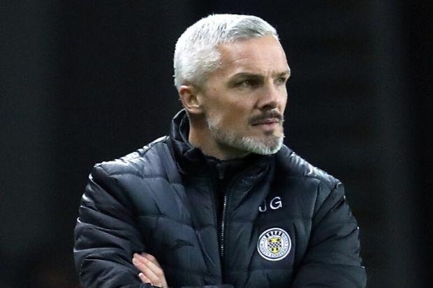 Jim Goodwin was less than impressed after last night's defeat