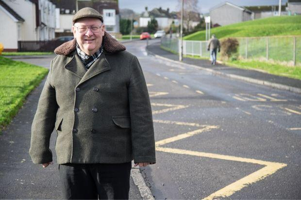 Councillor Andy Doig has welcomed the safety measures being introduced at Meadside Avenue