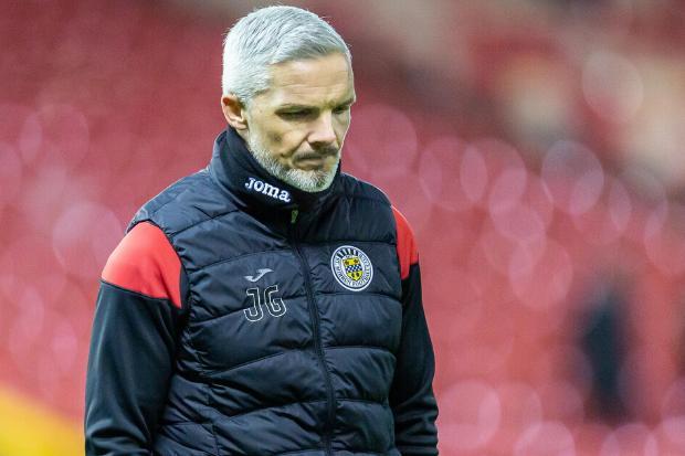 St Mirren boss reveals he has sent majority of his squad home