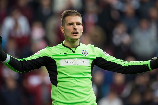 St Mirren captain Sam Foley hopes Vaclav Hladky is a keeper