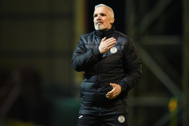 St Mirren boss Jim Goodwin says its 'common sense' that Hearts are demoted