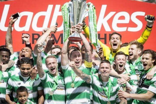 Celtic have been crowned champions of the Ladbrokes Premiership this season