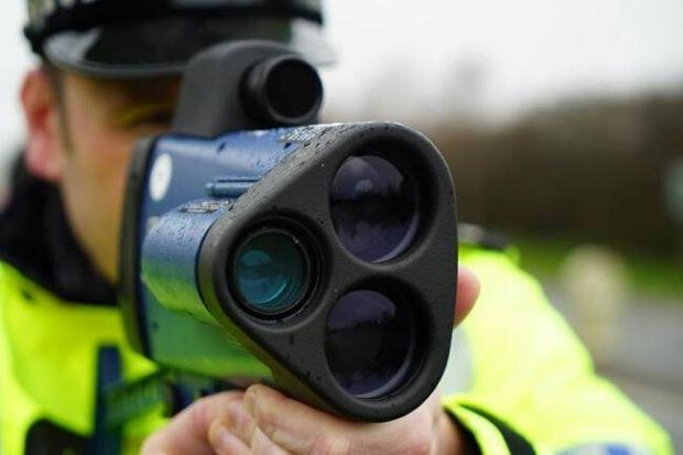 Police are carrying out speed checks on the A761