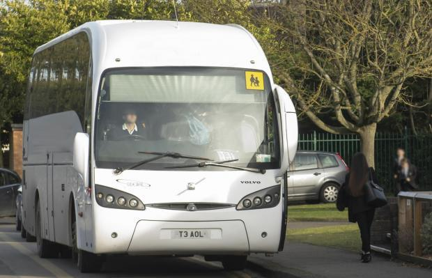 The Gazette: Pupils will not need to distance on school buses