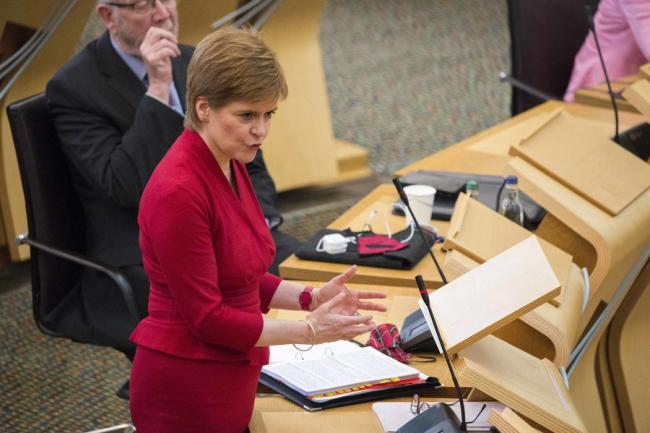 Nicola Sturgeon sets out lockdown changes