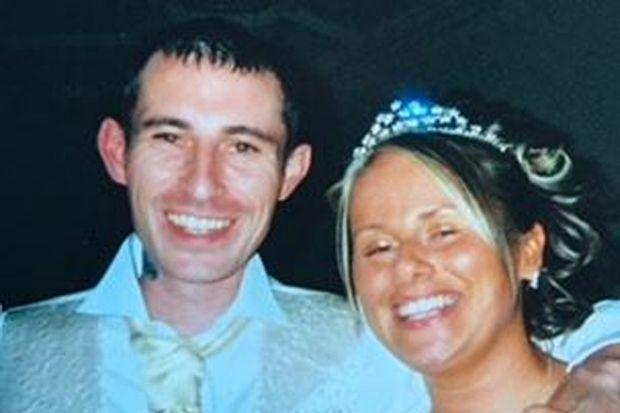 Paul Mathieson with his sister Amanda Digby, who was left devastated by his death.