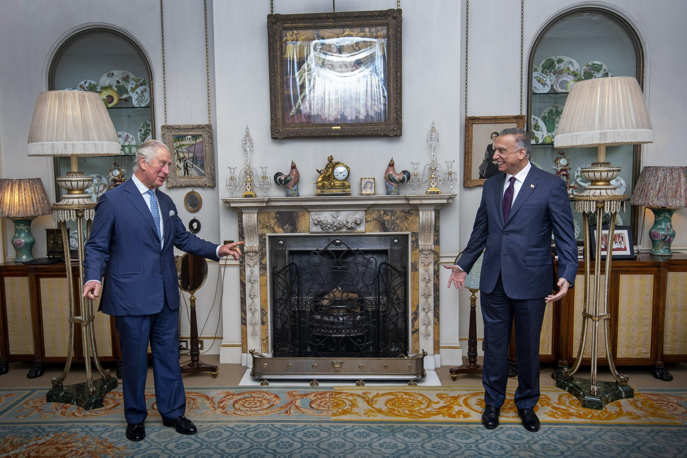 Charles welcomes Iraqi prime minister to Clarence House 11945932