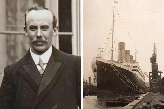 Pastor John Harper was among those who perished when the Titanic sank after striking an iceberg