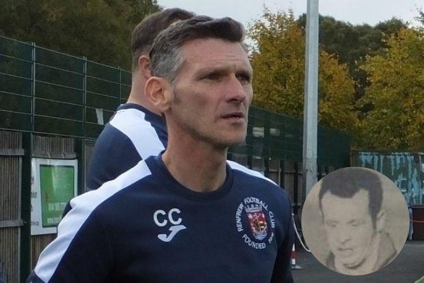 Gaffer's tribute to Renfrew legend Frank Daily