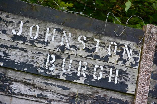 The Gazette: Old signage at Keanie Park, in Johnstone, by Kenneth McWilliam