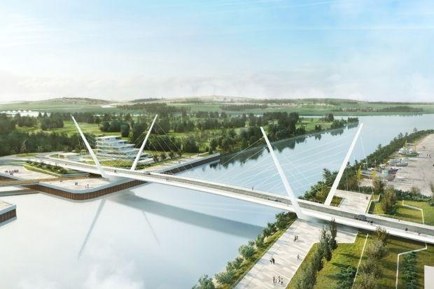 A new bridge across the River Clyde to link Renfrew with Clydebank is in the pipeline