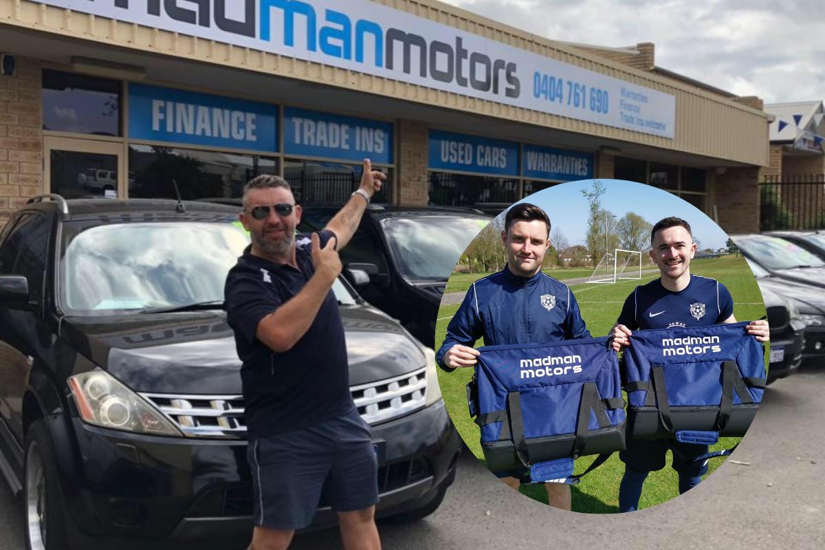 Australian sponsorship deal for Johnstone football team