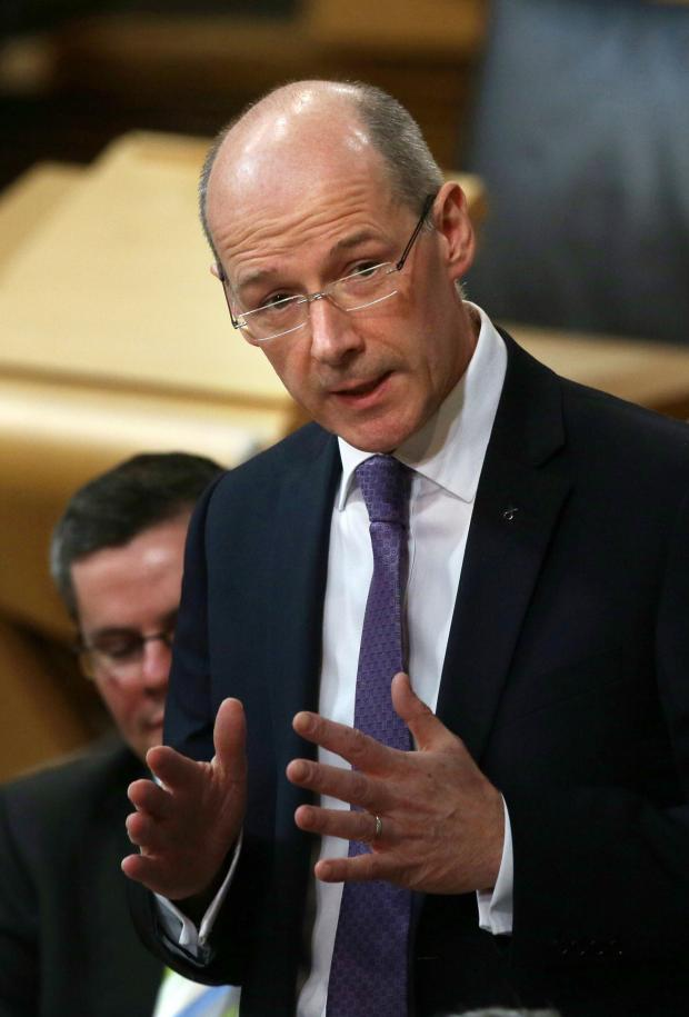 The Gazette: Deputy First Minister John Swinney