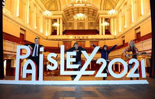 Paisley all set for weekend of cultural activities