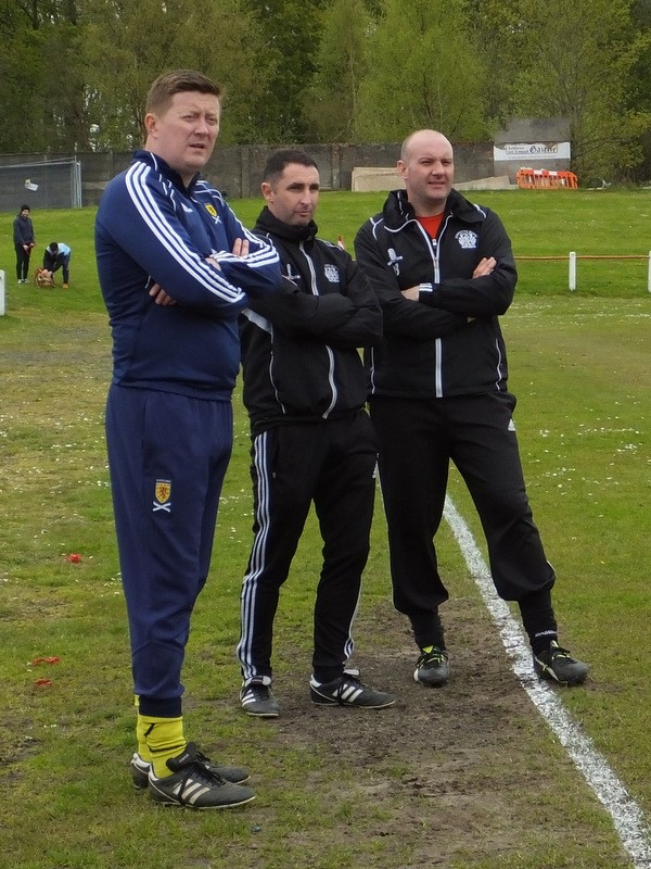 Johnstone Burgh's management team are casting their eye over possible signings