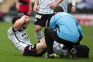 Lewis Morgan was injured against Ayr and his return date is unknown