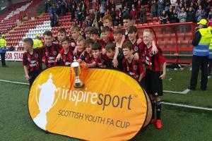 St Peters FC 2004: Scottish Cup champions 2017