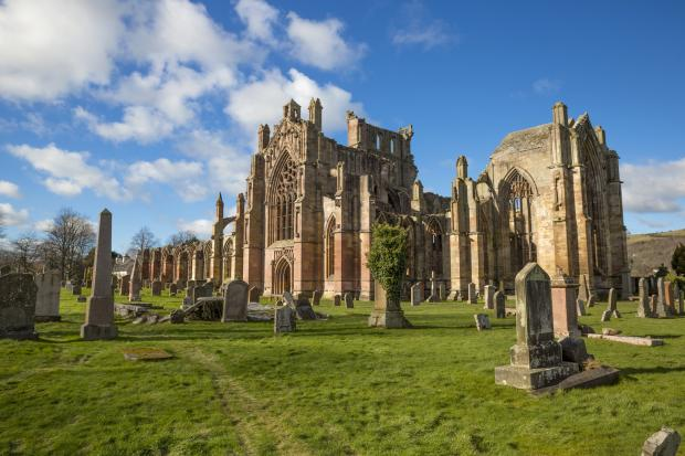 The Gazette: Melrose Abbey remains the most popular paid-for attraction in the Borders