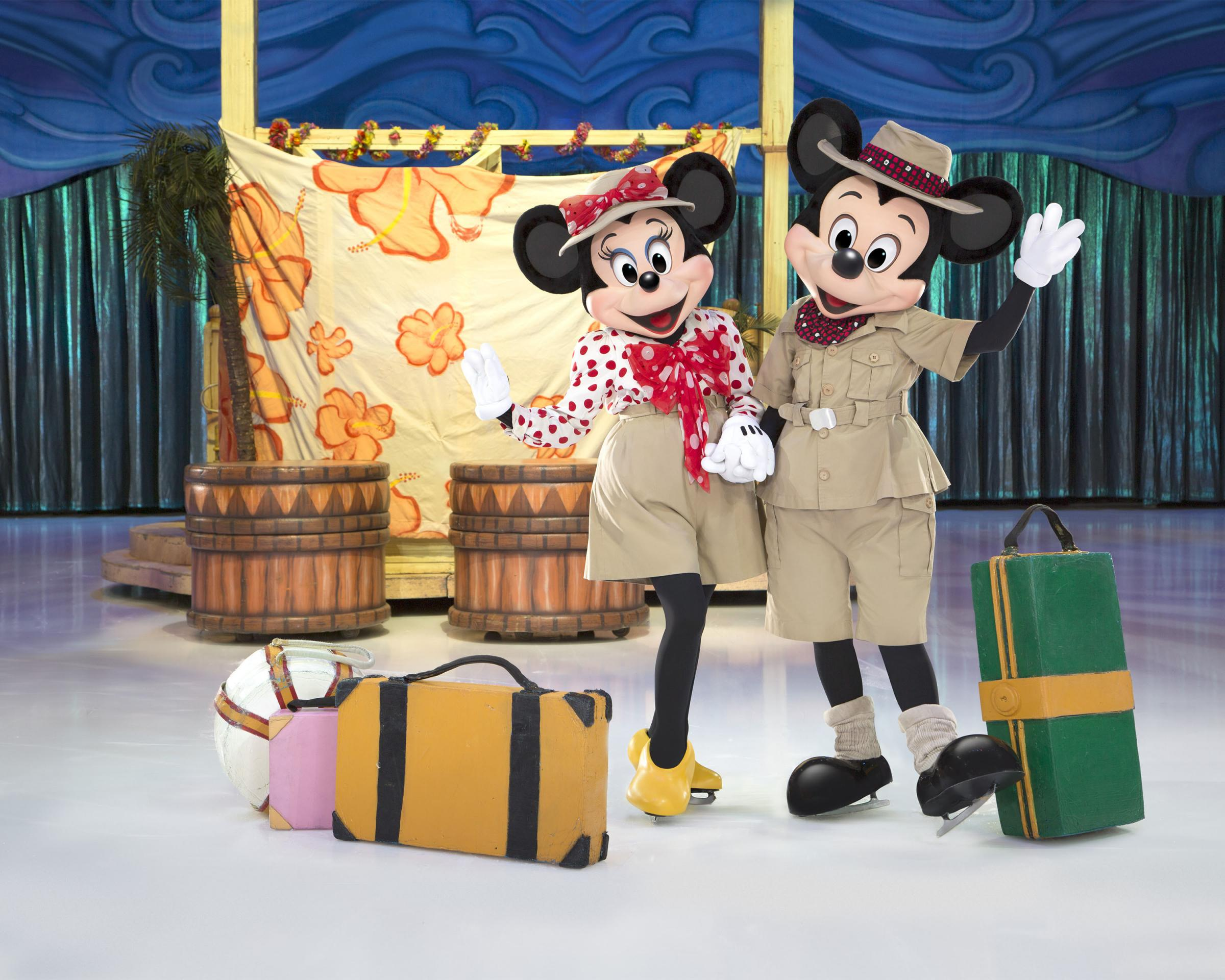 Mickey and Minnie Mouse are ready to take audiences on an adventure