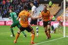 Wolves remain two points clear at the top of the Championship after beating Preston 3-2