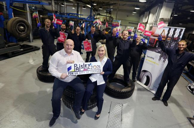 Tyre firm helps to push 2021 culture bid | The Gazette