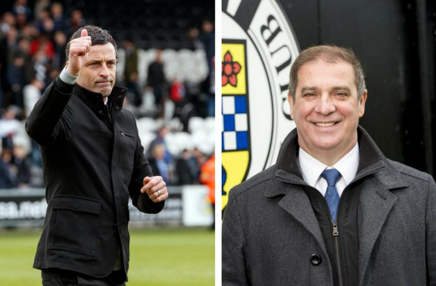 St Mirren chief executive Tony Fitzpatrick: 'There's been absolutely no contact with Barnsley' over manager Jack Ross