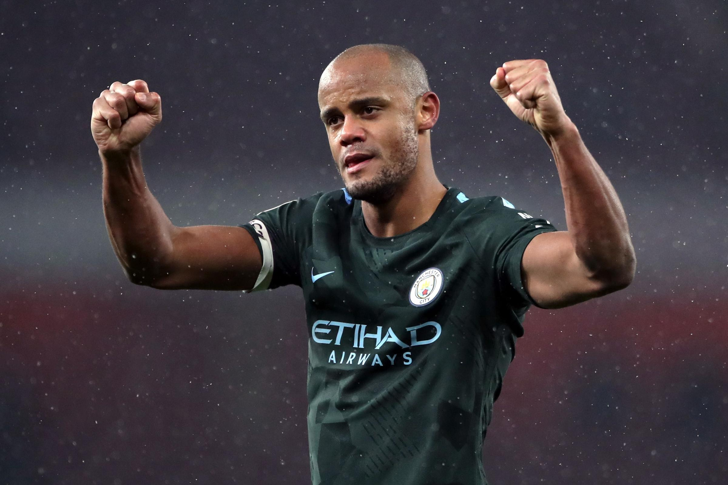 Vincent Kompany expects Manchester United to try to spoil City's title party (Nick Potts/PA)