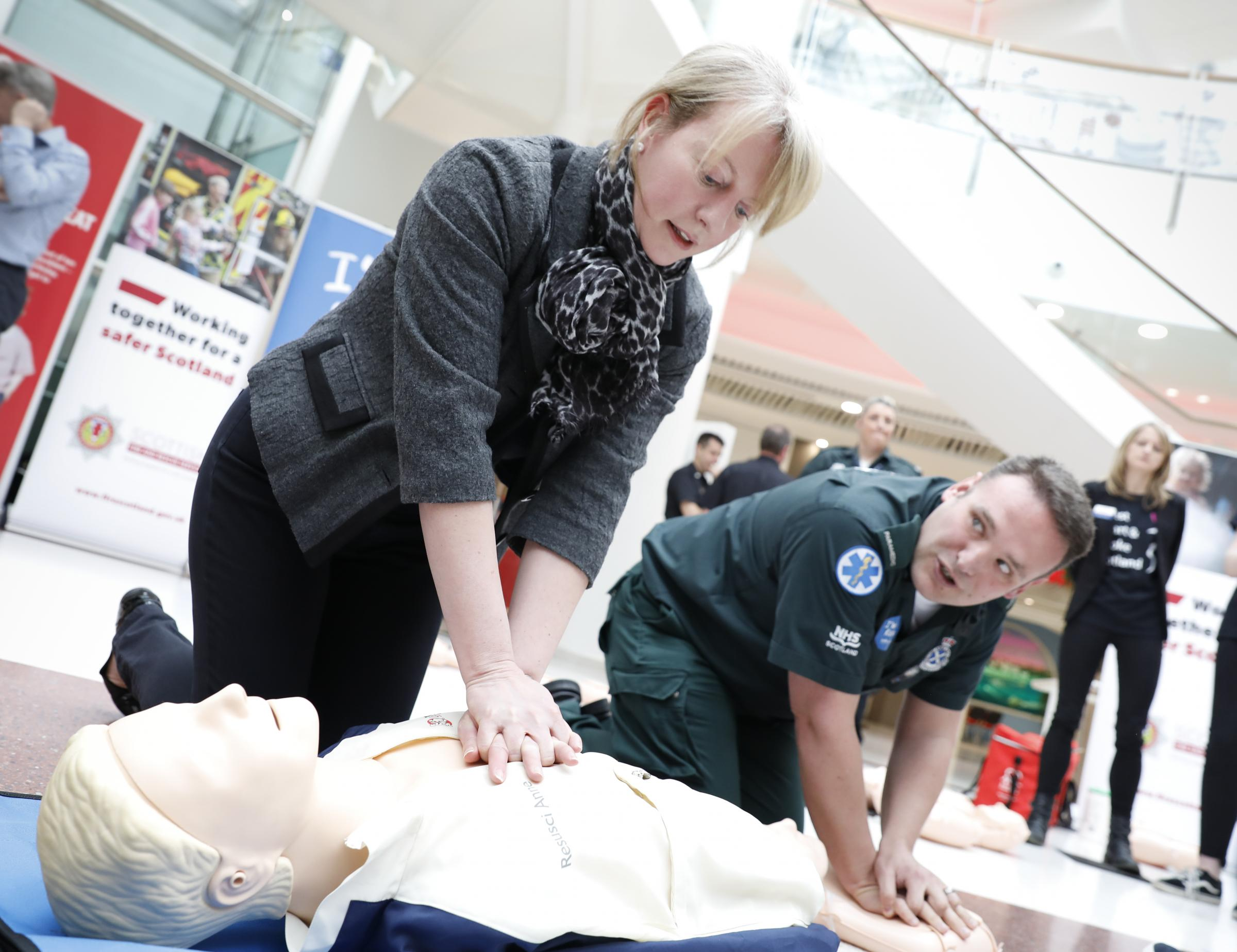 New CPR advert with Proclaimers tribute launched at intu Braehead