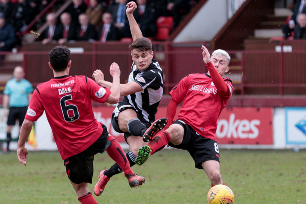 Kyle Magennis has become a mainstay in the St Mirren side.