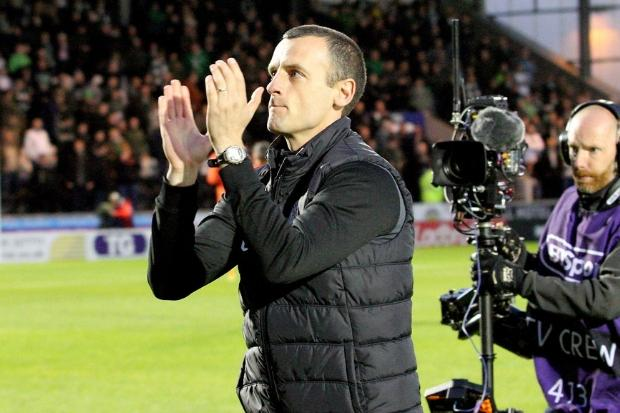 Oran Kearney was giving a rousing reception in his first match (photo: John Millar)